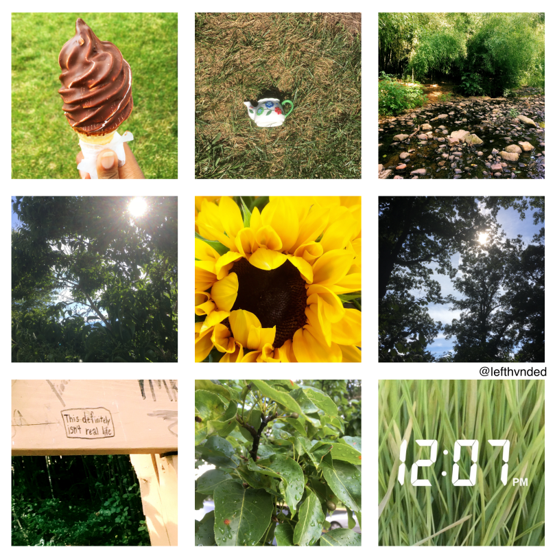 moodboard 1 - summer, green